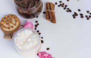 tắm trắng bằng cà phê dầu dừa