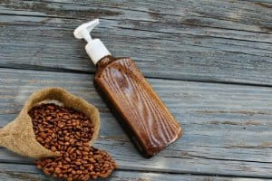 cà phê với dầu gội
