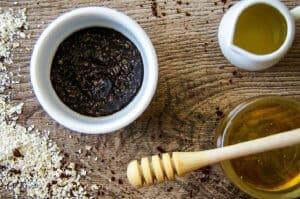 Cafe dầu oliu mật ong