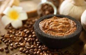 Tẩy da chết cafe dau oliu