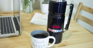 không uống cà phê qua đêm.