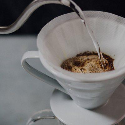 cách pha cà phê pour over