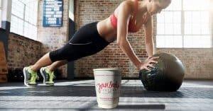 uống cafe kết hợp vận động