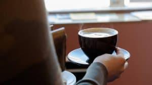 cà phê đen nóng giảm cân