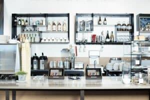 chi phí mua dụng cụ cho quán cà phê