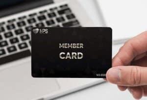 Thẻ thành viên quảng bá cafe