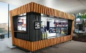 chọn mô hình quán cafe