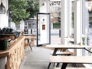 phong cách quán cafe đơn giản