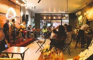 Quán cafe nghe nhạc