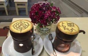 cách pha cà phê trứng