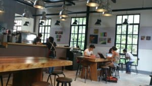 Mô hình kinh doanh cà phê workshop