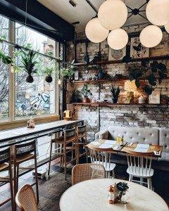 trang trí quán cafe nổi bật phong cách quán