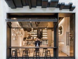 quán cafe đơn giản hiện đại