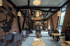 thiết kế quán cafe đẹp hút khách