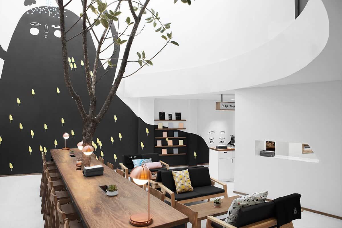 9 Phong cách trang trí quán cafe đẹp hút khách