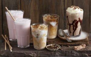 biến thể cafe Frappuccino