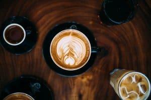 cà phê Capuchino có nhiều loại