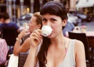 cách uống cafe Espresso