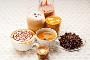 latte macchiato espresso