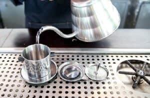 tráng phin cà phê