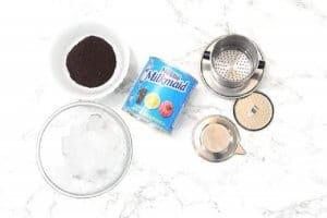 dụng cụ pha cafe sữa đá