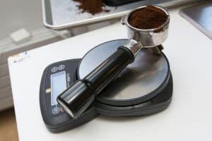 định lượng cà phê
