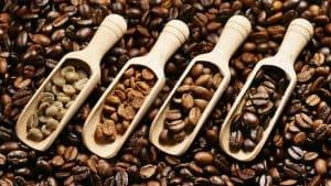 hạt cafe biến đổi khi rang