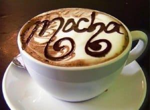 Nguồn gốc ly cà phê Mocha