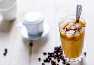 chú ý nguồn nước pha cafe
