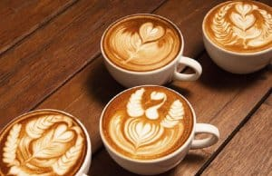 tạo hình cafe Latte art