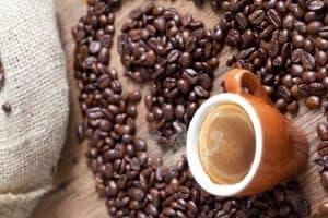 Thưởng thức cafe catimor