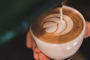 tiêu chuẩn cà phê Latte