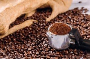 bột cà phê mộc