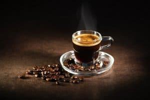nhận biết cafe mộc khi pha