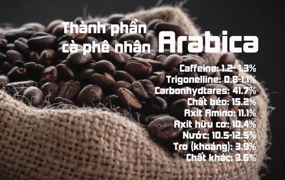thành phần cafe Arabica