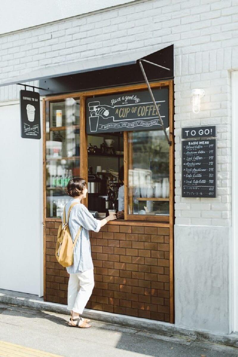 dự trù khi kinh doanh cafe take away