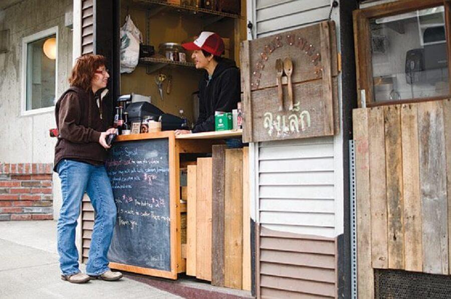 kinh phí trang trí quán cafe take away