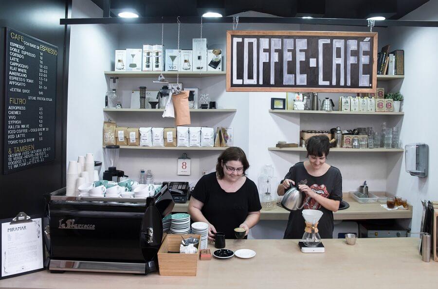 Mô hình cà phê take away nhượng quyền.