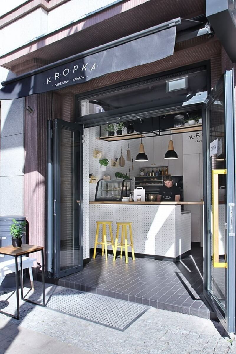 Mô hình quán cà phê mang đi