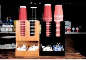dụng cụ cần thiết cho quán cà phê take away