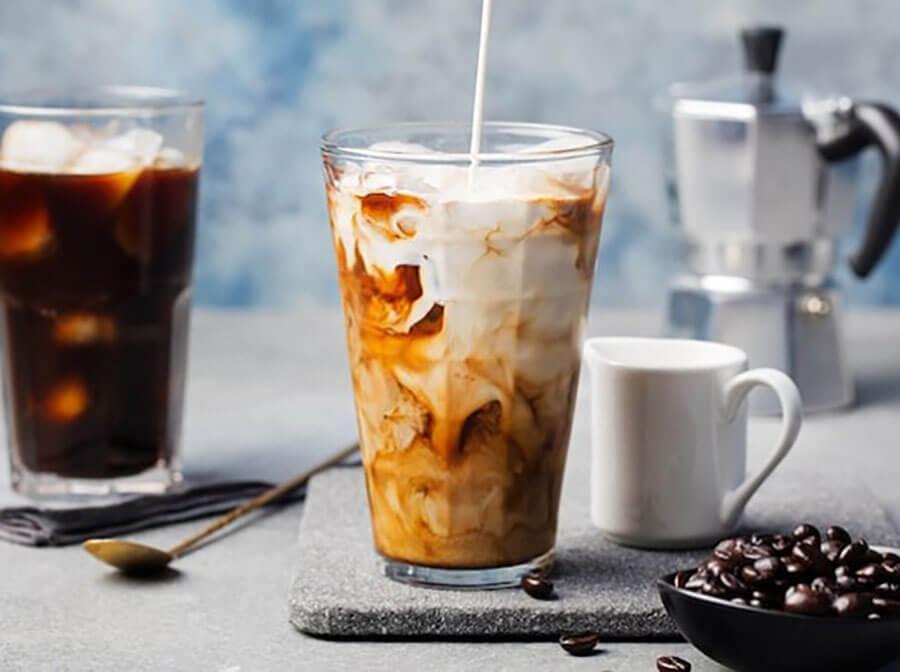 cafe bạc xỉu đá