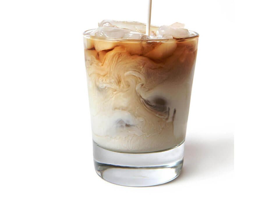 cách pha cà phê sữa tươi