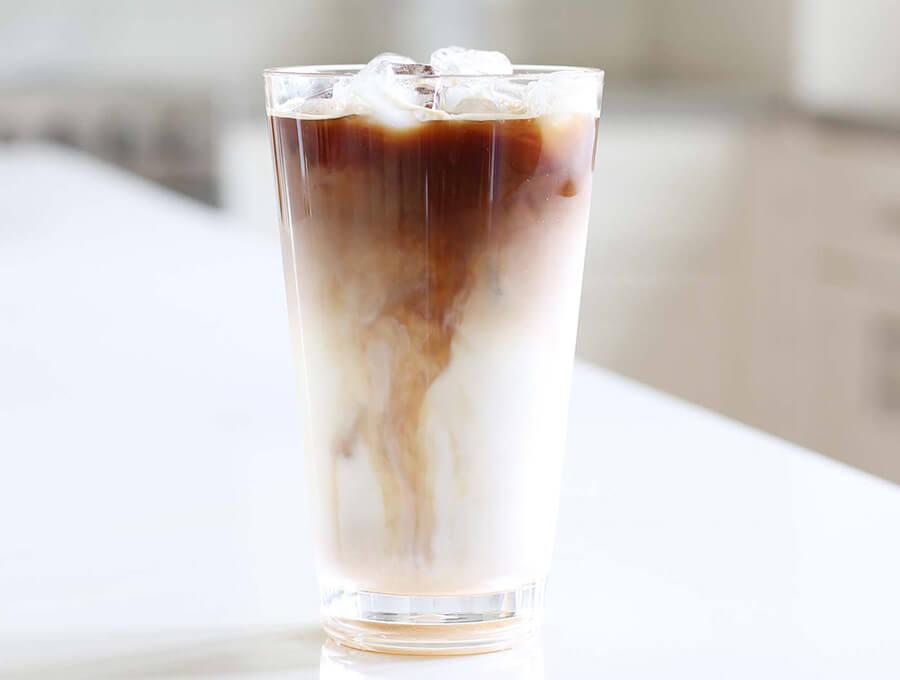 cách uống cafe sữa tươi