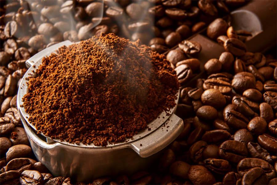 sử dụng cà phê nguyên chất